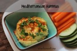 Mediterranean Hummus - Healthy hummus, fresh taste at home that mixes up in just minutes using the food processor.