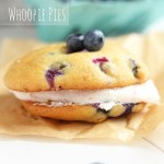 Blueberry Whoopie Pies with Whipped Blueberry Filling