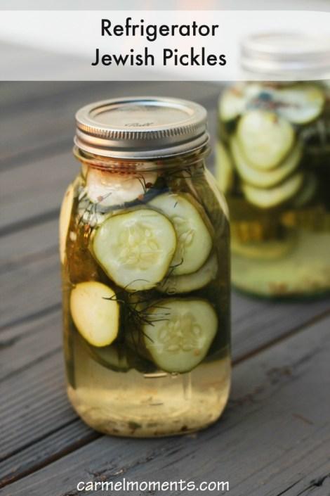 Refrigerator Jewish Pickles