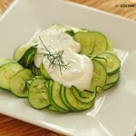 Cucumber Salad with Greek Yogurt