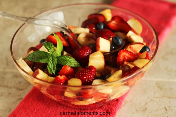 Beautiful wonderful delicious yummy fruit salad