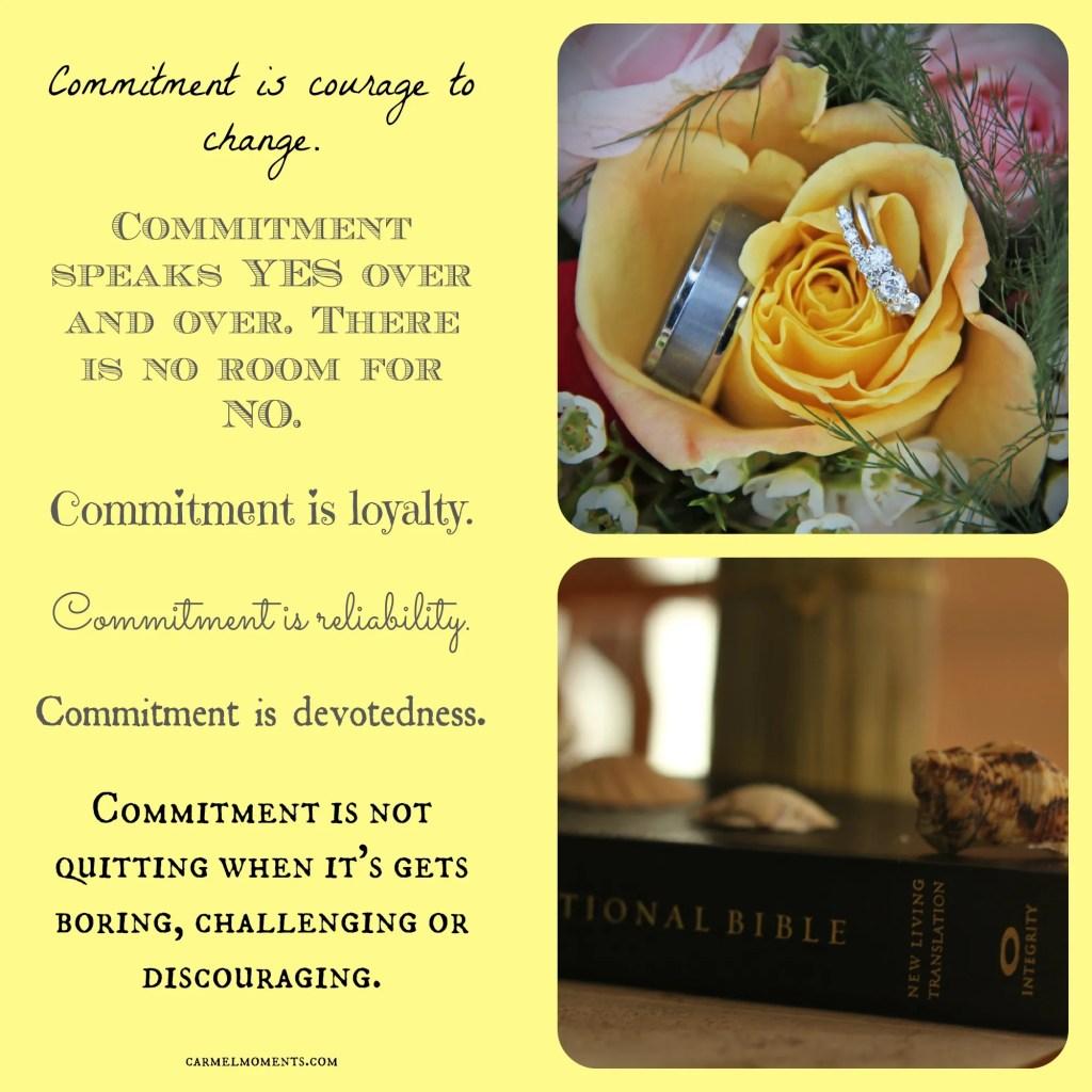 Impegno: Cosa significa per te?