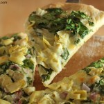 Bread Machine Pizza Dough Spinach Artichoke Pizza