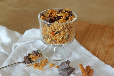 Cherry Chocolate Granola | gatherforbread.com