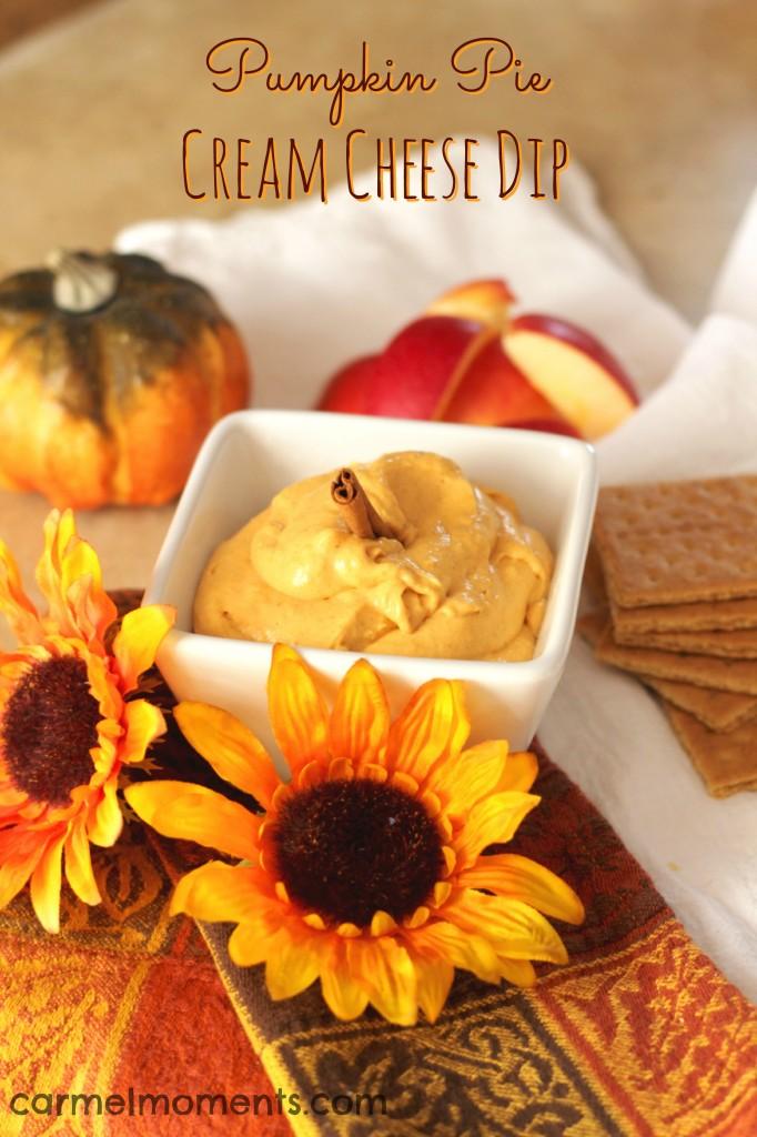 Pumpkin Cream Cheese Dip  | Gather for Bread