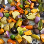 How To Make Roasted Vegetables - Easy recipe favorite for vegetables. Potatoes, onions, peppers all roasted to perfection. Side dish dinner solution.