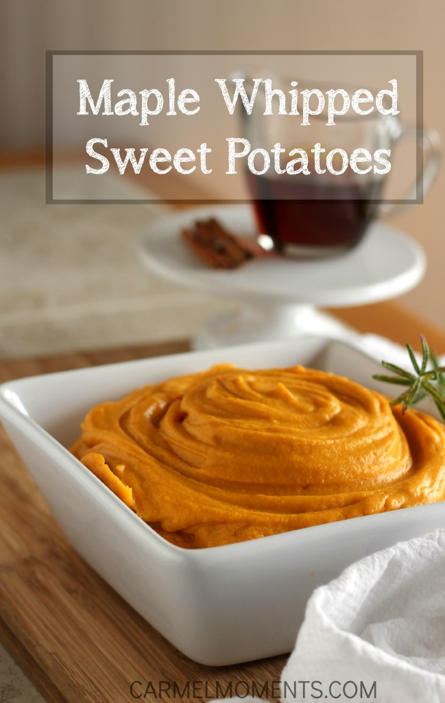 Maple Whipped Sweet Potatoes