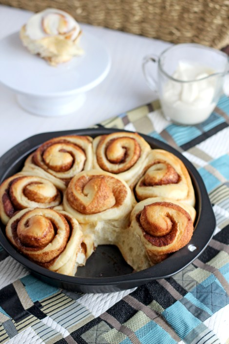 Cinnamon Rolls | gatherforbread.com