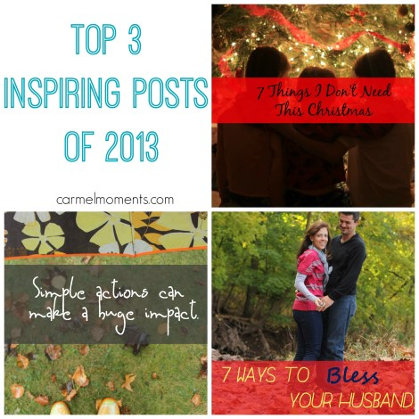 Top 3 Inspiring Posts of 2013