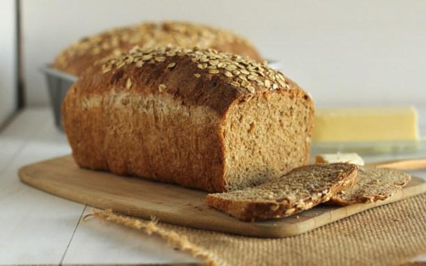 Whole Wheat Sandwich Bread -gatherforbread.com