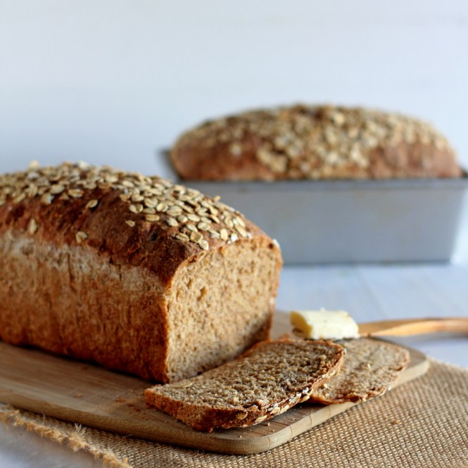 Whole Wheat Sandwich Bread | gatherforbread.com