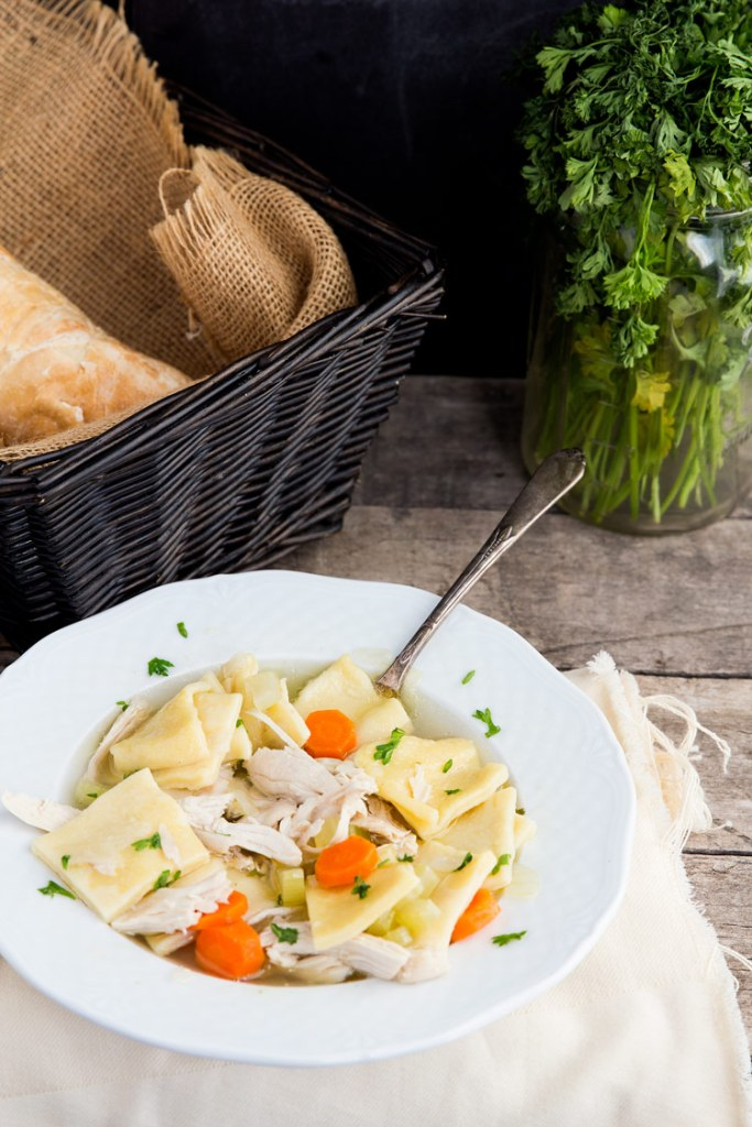 Pennsylvania Dutch Chicken Pot Pie