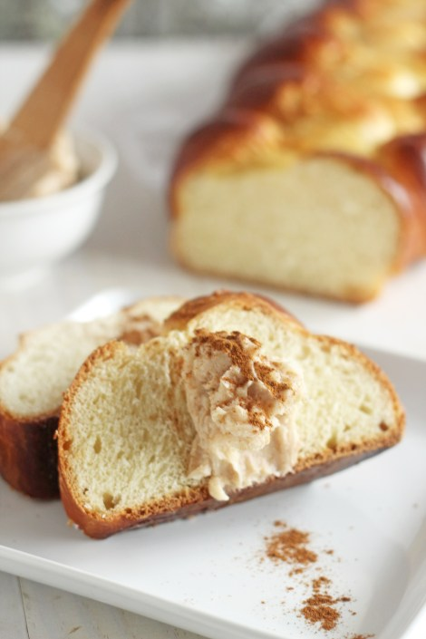 Challah with Cinnamon Honey Butter| GAther for Bread