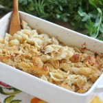Creamy Four Cheese Pasta Bake