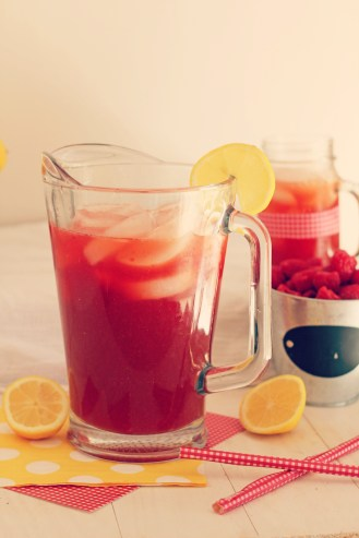 Raspberry Lemonade Iced Tea