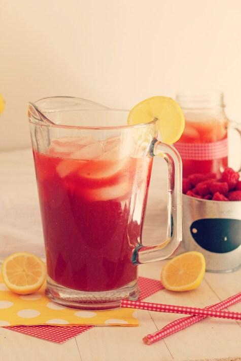 Raspberry Lemonade Iced Tea