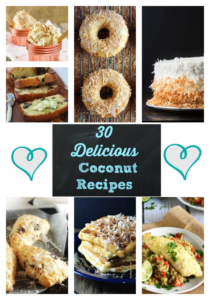 30 Delicious Coconut REcipes