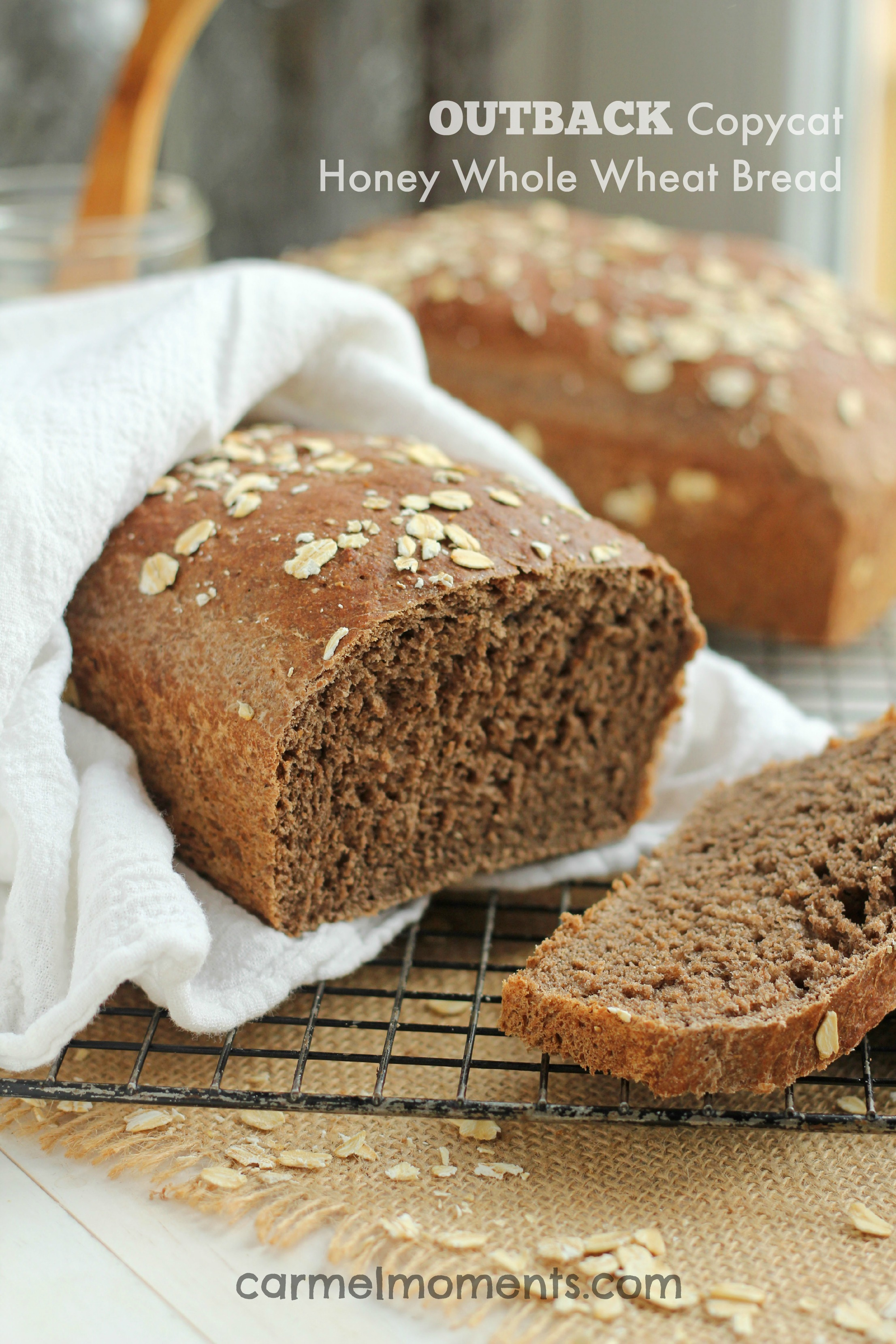 cracked wheat bread machine recipe