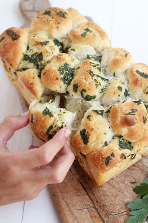 Pull Apart Garlic Bread