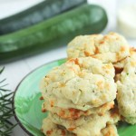 Zucchini Parmesan Buttermilk Biscuits