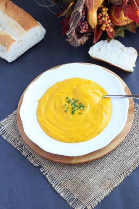 Creamy Coconut Butternut Squash Soup