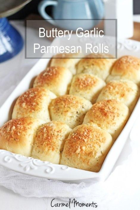 Buttery Parmesan Garlic Rolls
