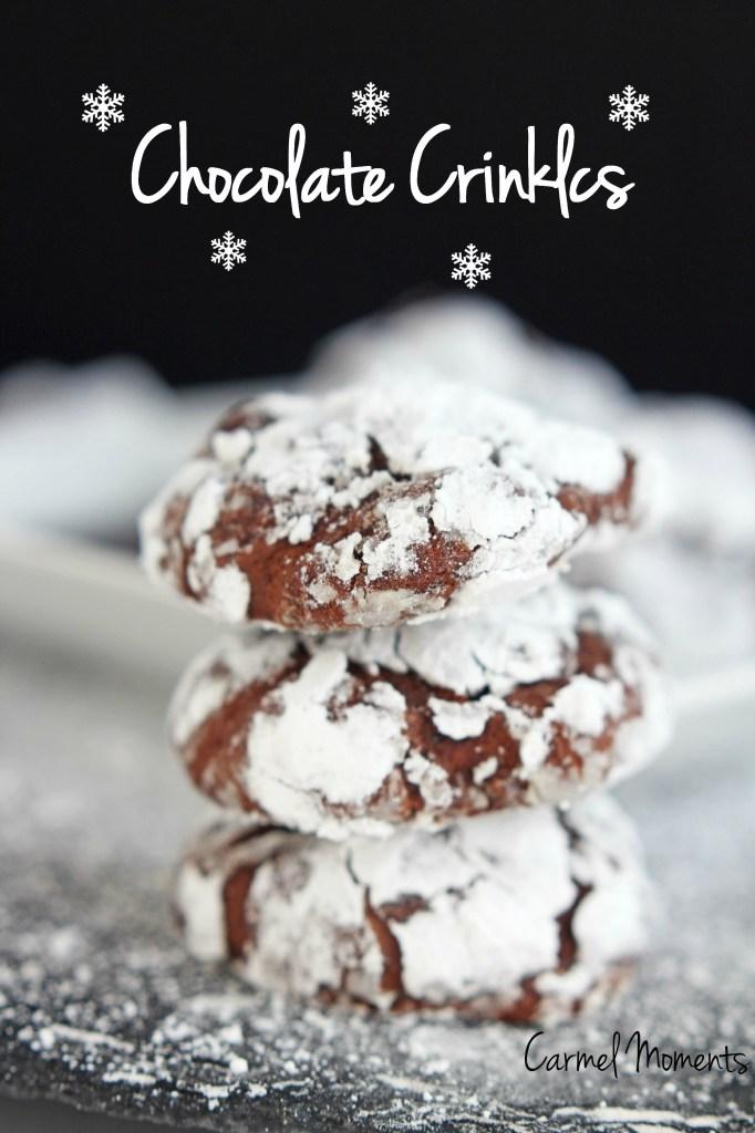 Chocolate Crinkle Cookies | gatherforbread.com