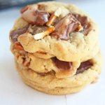 Take 5 Chocolate Caramel Pretzel Cookies