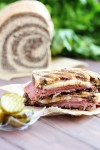 Reuben Sandwich without Sauerkraut