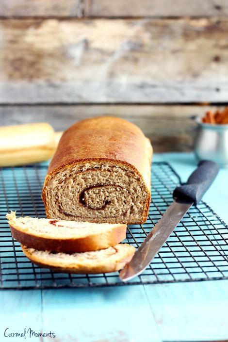 Cinnamon Swirl Bread 4-2