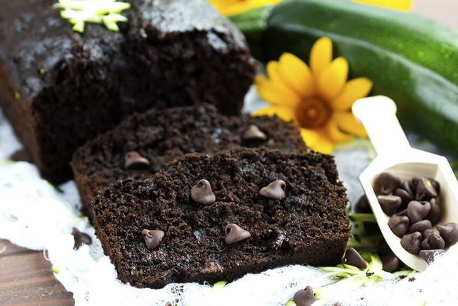 Greek Yogurt Chocolate Zucchini-Bread