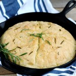 Rosemary No Knead Skillet Bread