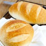 Easy Perfect Yeast Bread - Simple no fail yeast bread makes 2 delicious artisan loaves. So easy you'll make this recipe often. Perfect versatile loaf for dinner, sandwiches and more!