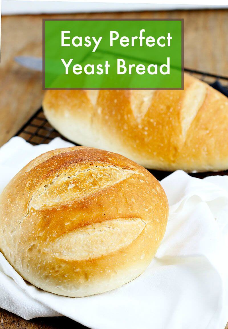 Yeast dough with dry yeast for white: recipe