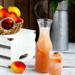 Fresh Peach Lemonade