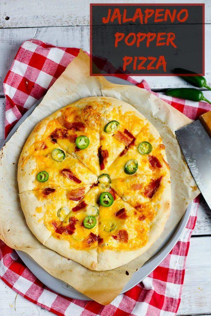 Jalapeno Popper Pizza // @gatherforbread