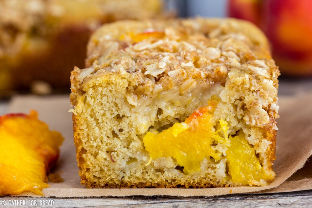 Fresh Peach Bread