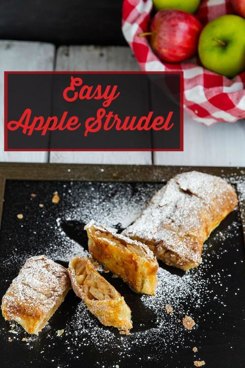 Easy-Apple-Strudel Recipe // @gatherforbread