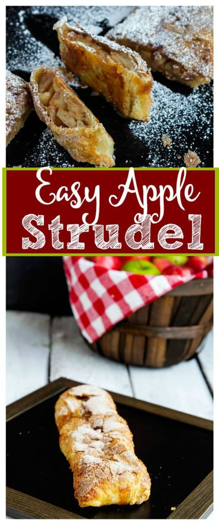 Easy-Apple-Strudel // @gatherforbread