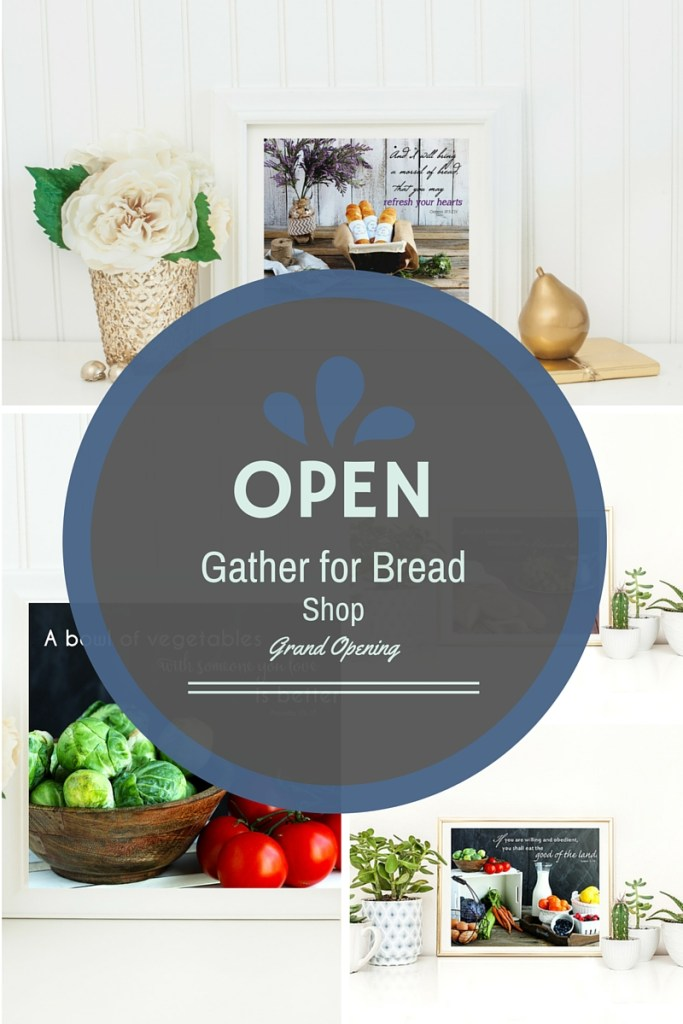 Gather for Bread Shop grand Opening