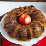 Apple Rum Dum Cake