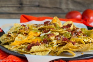 Easy Cheesy Nachos | gatherforbread.com