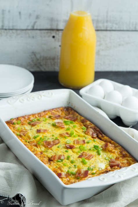 Bacon Egg Hashbrown Biscuit Bake-8
