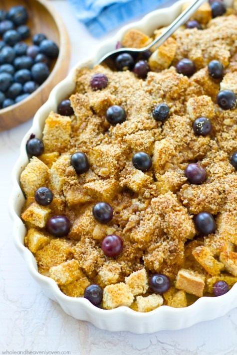 Bluebery French Toast-Casserole