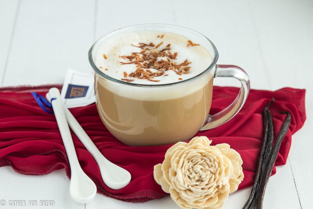 Vanilla Coconut Latte | gatherforbread.com
