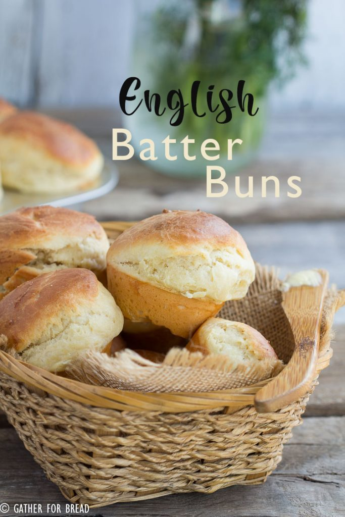 English Batter Buns | gatherforbread.com