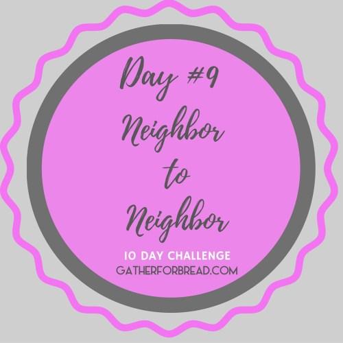 Neighbor to Neighbor | Handwritten Notes Encouragement Day 9