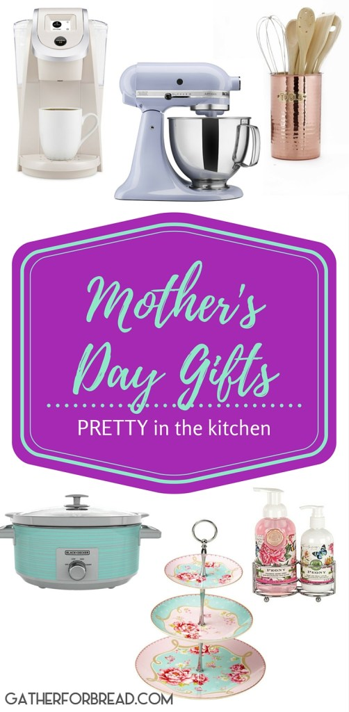 Mother's Day Gifts - A gift guide for putting pretty things in the kitchen.