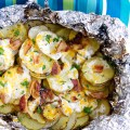 Bacon Ranch Grilled Potatoes