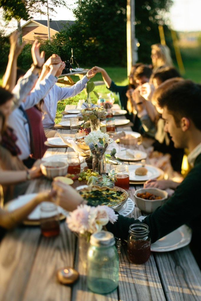 6 Ways to Connect with Your Neighbor - Host a Gathering on the Front Lawn